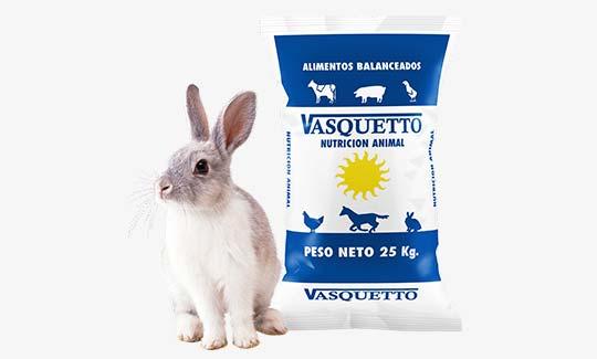 Conejos - Vasquetto Nutrición Animal - Río Cuarto